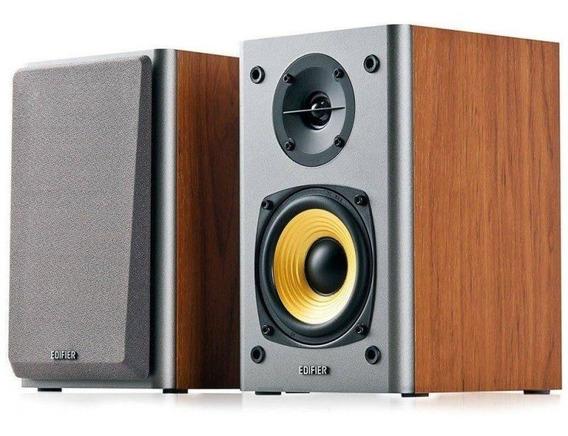 Monitor De Audio Edifier 2.0 R1000t4 24w Rms Bivolt Madeira