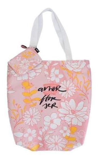 Bolsa Tote - Florescer Mãe