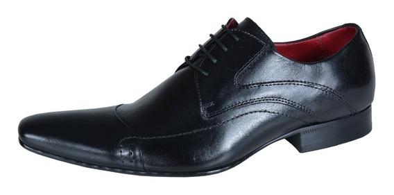 Sapato Social 405 Em Couro Frete Grátis