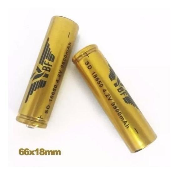 Bateria Recarregável 18650 4.2v Li-ion 9800mah