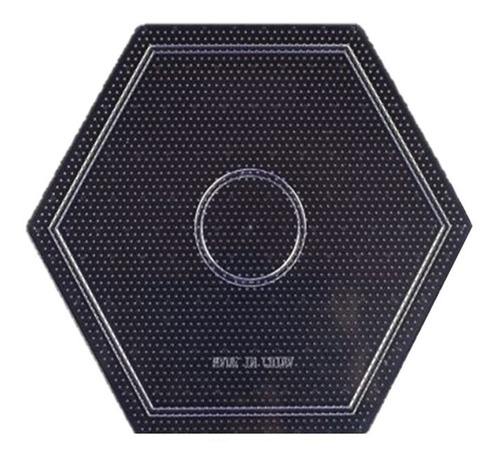 Placa Tablero Hama Beads Midi Hexagonal Perlas Magicas 5mm