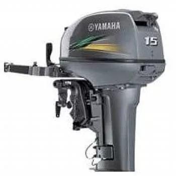 A Motor De Popa Yamaha 15hp  Okm  12 X Cartao Miami Nautica
