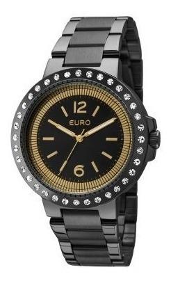 Relógio Euro Feminino Eu2035ydx/4p - Preto