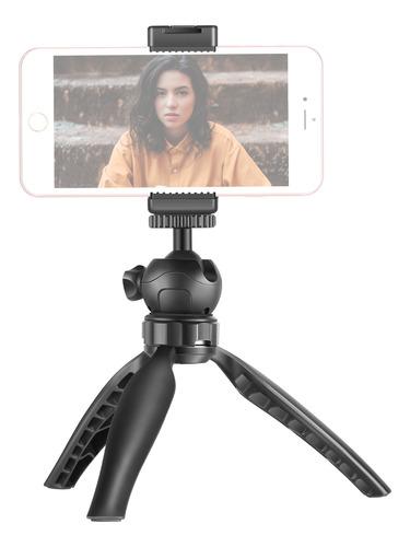 Imagen 1 de 7 de Neewer Mini Trípode De Mesa Para Smartphone Con Clip