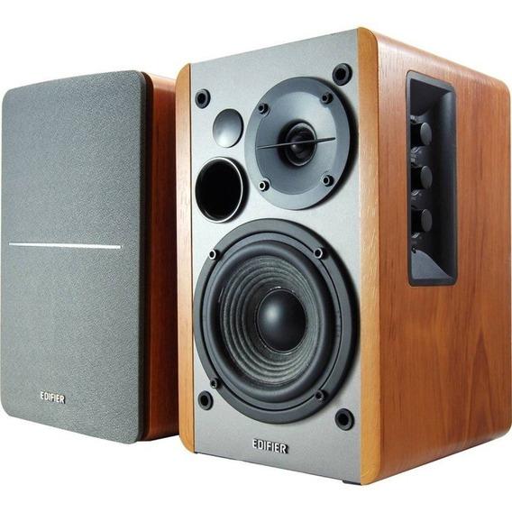 Monitor De Áudio Edifier R1280 T Prata/madeira 42w Promoção
