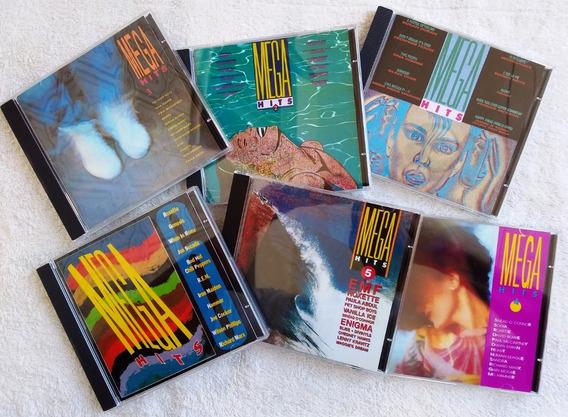 6 Cds Mega Hits 1987 1988 1989 1990 1991 1992 (1 2 3 4 5 6)