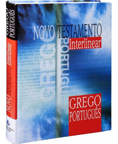 Imagem 1 de 6 de Novo Testamento Interlinear - Grego Português Sbb Nova Edic.