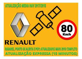 Atualização 2017/2018 Renault Media Nav Até 4.1.0