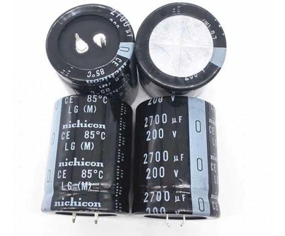 Capacitor Eletrolítico 2700uf 200v - 1 Peça