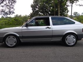 Volkswagen Gol Gl 1993 Prata 1.8 Turbo Legalizado Troco/moto