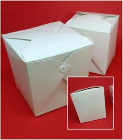Caixa Box Comida Chinesa Oriental 100 Unidades
