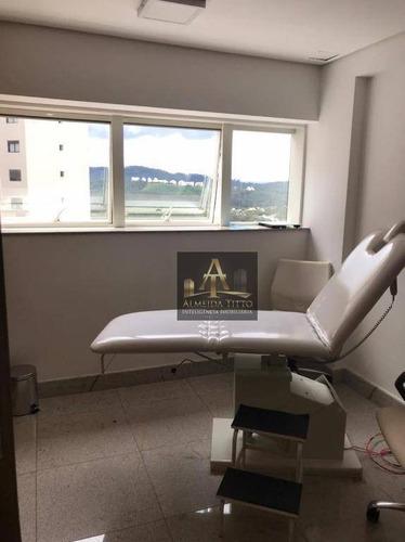 Excelente Sala À Venda No Edifício Office Grajaú - Confira! - Sa0560