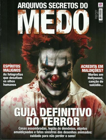 Arquivos Secretos Do Medo - Guia Definitivo Do Terror - Vol.