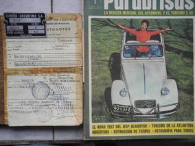 Citroën Azam 2cv Año 1971 Último 2cv Fabricado En Argentina.