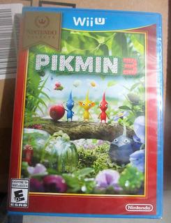 Pikmin 3 Juego Wiiu Nuevo Wii Nintendo Select Español