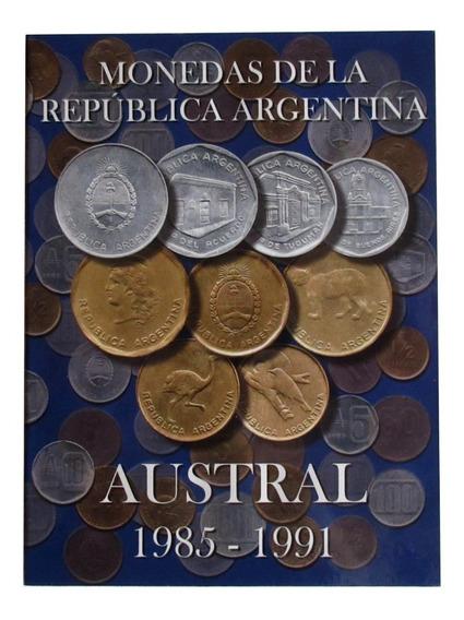 Nuevo! Album Para Monedas Argentinas 1985 - 1991 Australes
