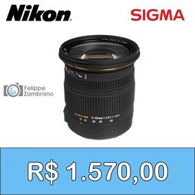 Lente Sigma 17-50mm F/2.8 (p/ Nikon)