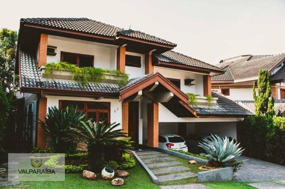 Casa Com 4 Dormitórios À Venda, 370 M² Por R$ 1.900.000,00 - Jardim Aquarius - São José Dos Campos/sp - Ca0146