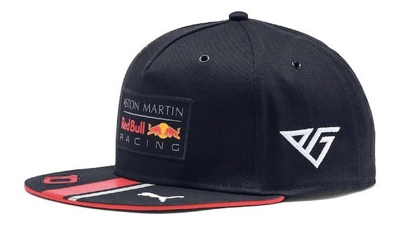 Gorra Red Bull Racing 2019 F1 Pierre Gasly Plana