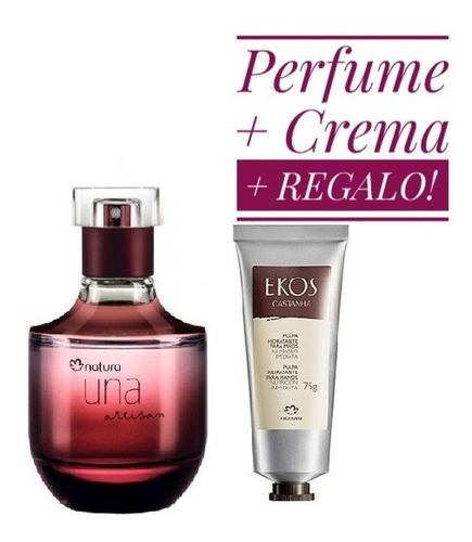 Perfume Natura Una Art 50ml + Crema + Regalo!