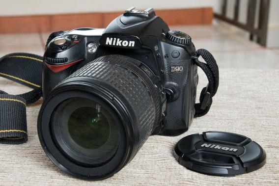 Nikon D90 + Lente Nikon 18-105 F3.5-5.6 G Ed