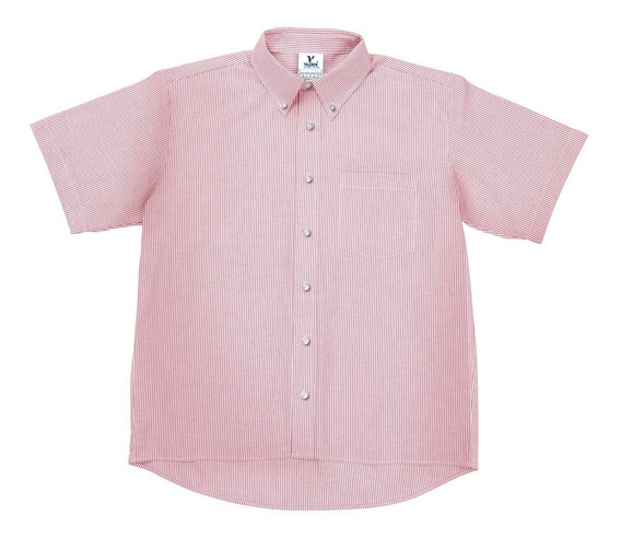 Camisa Oxford Mil Rayas Manga Corta Yazbek C0602 Caballero