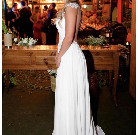 Vestido De Casamento Fluido , Praiano , Campo, Boho Chic