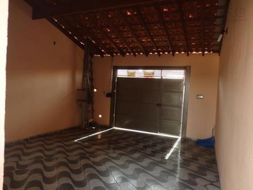 Casa Residencial À Venda, Pq Real, Vl. Industrial Bauru - Ca0599. - Ca0599