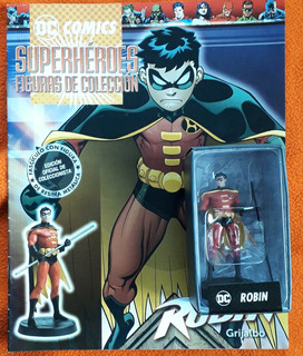 Figura De Coleccion Dc Superheroes Robin