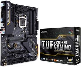 Placa Mãe Asus Gamer/gaming Z390-pro Tuf Lga1151 **