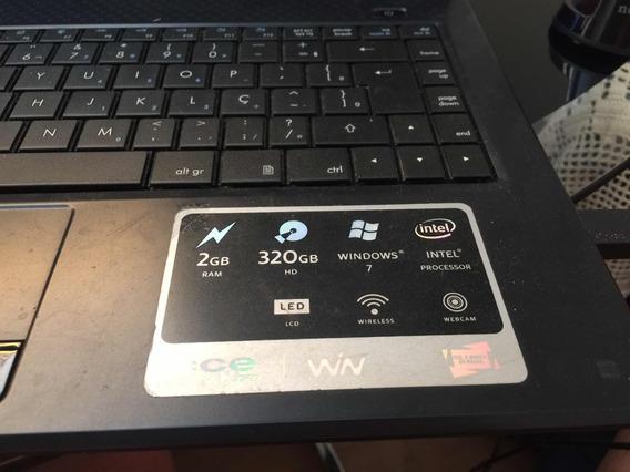 Notebook Cce Wn Intel Pentium Inside Processador T4500