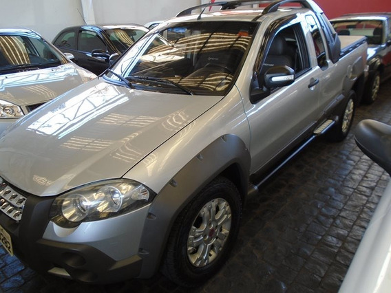 Fiat Strada Adventure Locker 1.8 Prata 2010