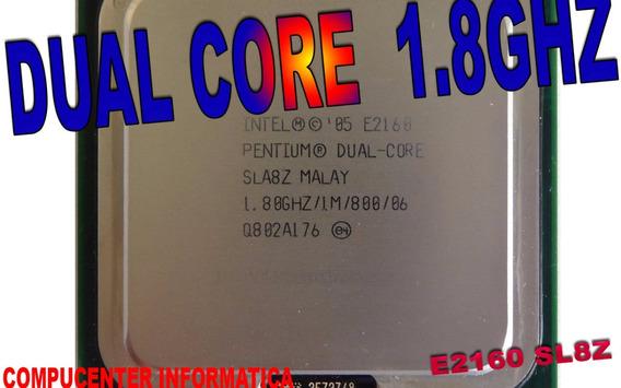 Processador Pentium Dual Core E2160 1.80g 1mb 800 Semi Novo