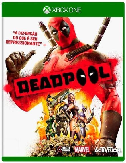 Deadpool Xbox One Mídia Física Usado