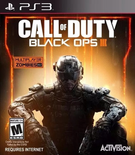 Call Of Duty Black Ops Iii Ps3 Fisico Nuevo Sellado