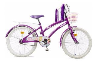 Bicicleta Olmo Tiny Dancers Paseo Niña Rodado 20 Green Sport