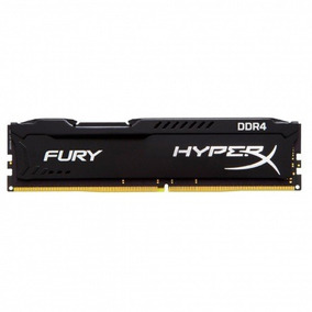 Memoria Ddr4 Kingston 8gb/2400 Hx424c15fb2/8 Hyperx Fury
