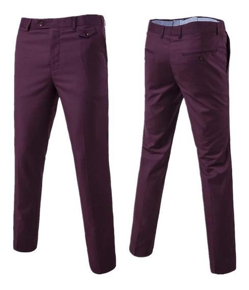 Hombres Derecho Casual Pantalones