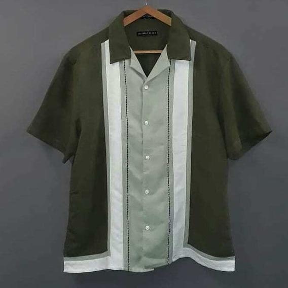 Camisa Tipo Cubavera - Talle L