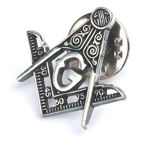 Pin Mason Logias Simbolicas En Plata Fina Ley.925