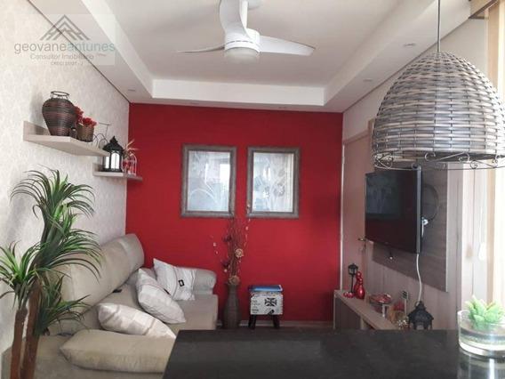 Apartamento Com 2 Dormitórios À Venda, 52 M² Por R$ 210.000,00 - Jardim Colina Verde - Limeira/sp - Ap0339