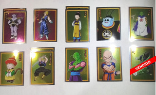 Estampas Plateadas Album Dragon Ball Z Warriors Precio C/u