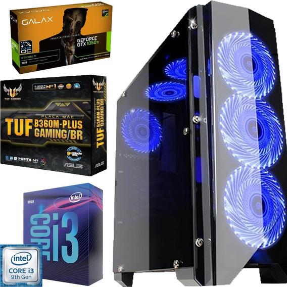 Pc Gamer Completo I3 9100f - 16gb - 240gb - Gtx 1050ti