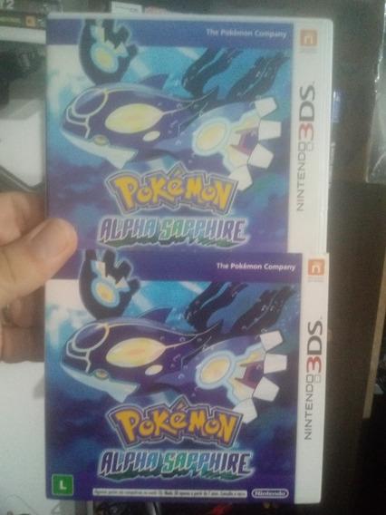 Pokémon Alpha Sapphire 3ds Semi Novo