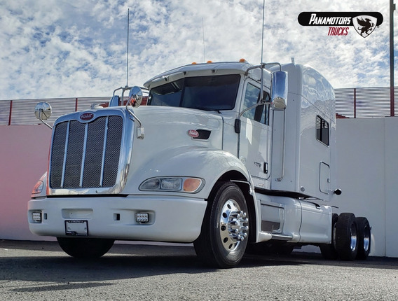 Peterbilt Tractocamion 386 Ultracab, Blanco, 2011