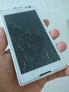 Celular Smartphone Sony Xperia C Branco Leia Pronta Entrega