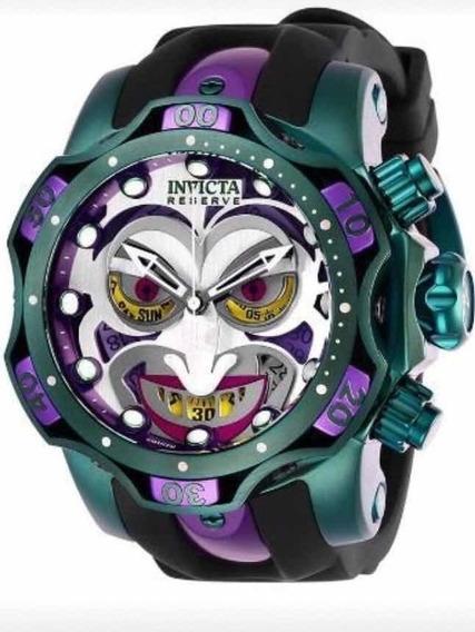 Relógio Invicta Dc Comics Coringa 26790 Edição Limitada