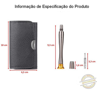 Kit Ferramentas De Manutenção 25 Pçs Chaves De Precisão