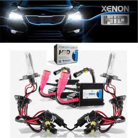 Xenon Carro Tech One 8000k H1 H3 H4 H7 Hb4 H11 H16 Par