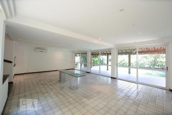Casa Para Aluguel - Barra Da Tijuca - Marapendi, 4 Quartos, 450 - 893022497